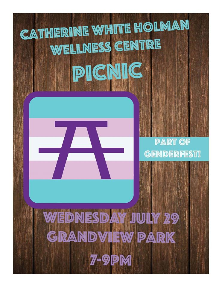 Catherine White Holman Wellness Centre Picnic; details in following text.